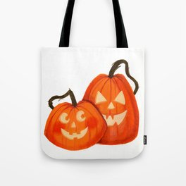 Jack O Lanterns Tote Bag