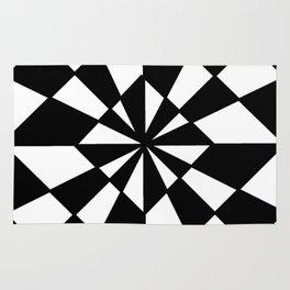 optical pattern 19 Rug