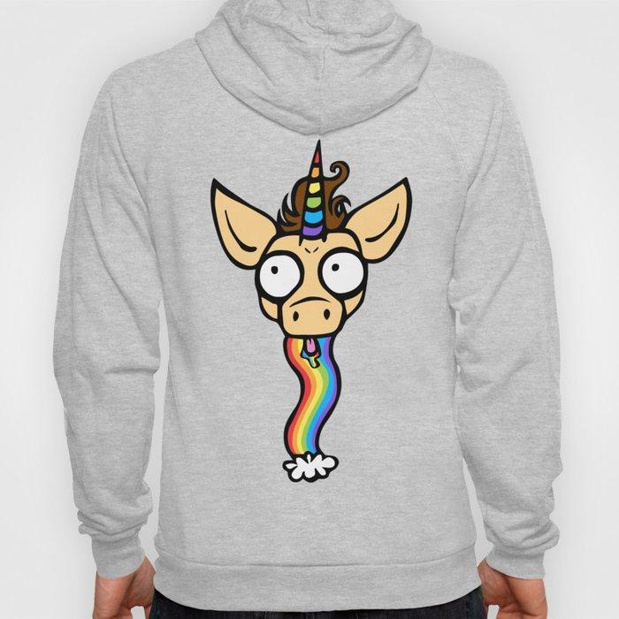 Unicorn Rainbow Puke Hoody