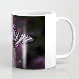 Zebra Striped Swallowtail Butterfly Coffee Mug