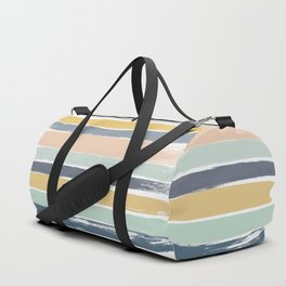 Pastel Stripes Duffle Bag