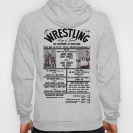 #8 Memphis Wrestling Window Card Hoody