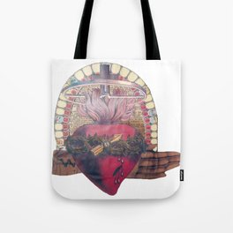 Mark 43 10 If thy Hand Offend Thee Tote Bag