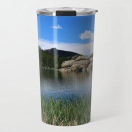 Sylvan Lake In The Black Hills Travel Mug