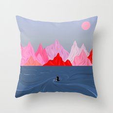 Within // Without Throw Pillow