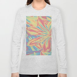 colorful blossoms Long Sleeve T-shirt
