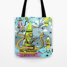 The Great Doodle Warriors Tote Bag
