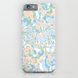 Light Blue Abstract iPhone Case