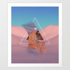 Chrome Atari Art Print