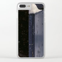 winter 2018-04-18 Clear iPhone Case