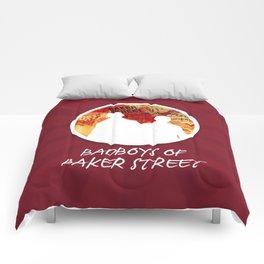 Bad Boys Of Baker Street (Modern) Comforters