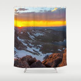 The View From The Top Shower Curtain