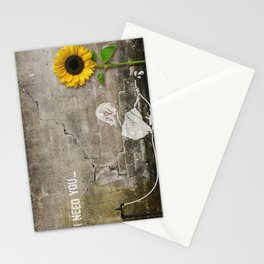 I need You Stationery Cards