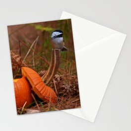 A Chickadee Thanksgiving Stationery Cards