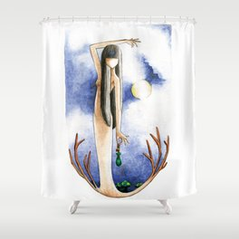 The Sight Shower Curtain