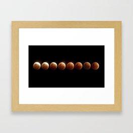 Lunar Cookie Framed Art Print