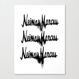 NM drips Canvas Print