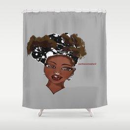 Afrique Chique Shower Curtain