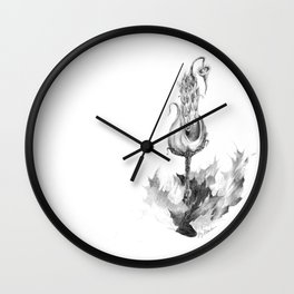 Erupting Thistlenipple (part of the Strange Plants series) Wall Clock