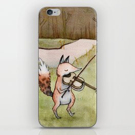 Violin Fox iPhone Skin