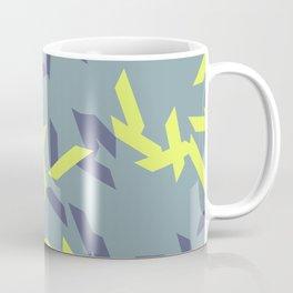 random trapezoids pattern_pigeon Coffee Mug