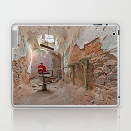 Abandoned Barber Prison Cell Laptop & iPad Skin