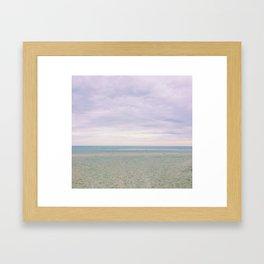 Winter on Kiawah Island Framed Art Print