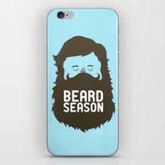 Beard Season iPhone Skin