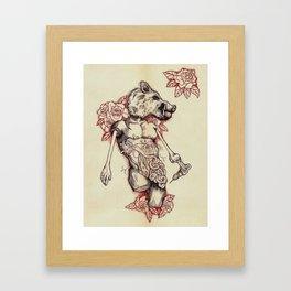 Feast or Famine Framed Art Print