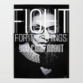 Ruth Bader Gingsburg Poster