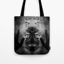 By the light of MY cauldron Tote Bag