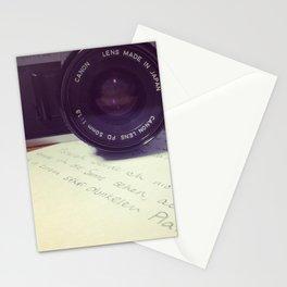 die Filmkamera Stationery Cards