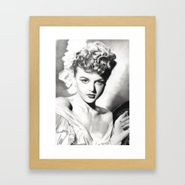 Angela Lansbury Framed Art Print