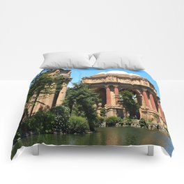 View Over The Lagoone To The Palace Of Fine Arts - San Francisco Comforters
