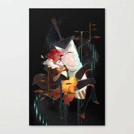 Don't Let Go - Transistor Canvas Print