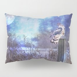 The Northern Harrier and The Moon Pillow Sham