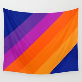 Simple Stripes - Sapphire Wall Tapestry