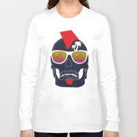 bones Long Sleeve T-shirts featuring Bones by  Steve Wade ( Swade)