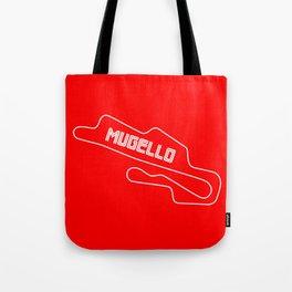 Race Track Mugello, Home of Ducati Tote Bag