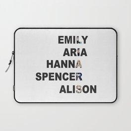 Pretty Little Liars - Girls Name Acrostic Laptop Sleeve