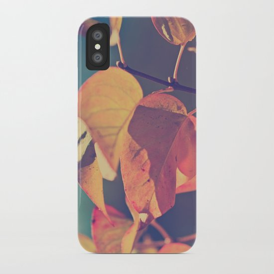 Color of the Leaves iPhone Case