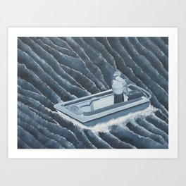 The Ocean is Free, Are You? Art Print