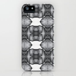 Two Angels 1 iPhone Case