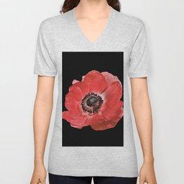 Flower_17 Unisex V-Neck