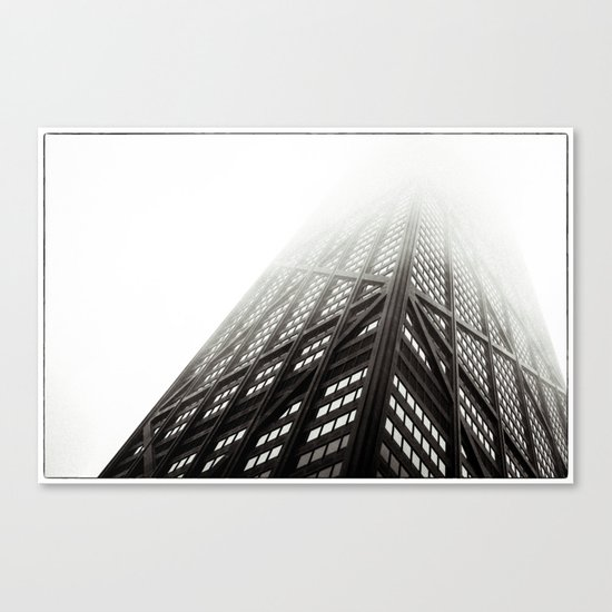 Chicago Hancock Tower Canvas Print