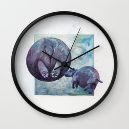 Circle a Day: Hippopotamus Wall Clock