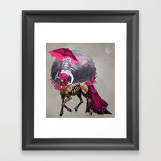 The Duchess Framed Art Print