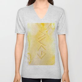 God Is Greater - YELLOW Unisex V-Neck