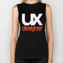UX Designer Biker Tank