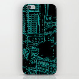City of the Future iPhone Skin